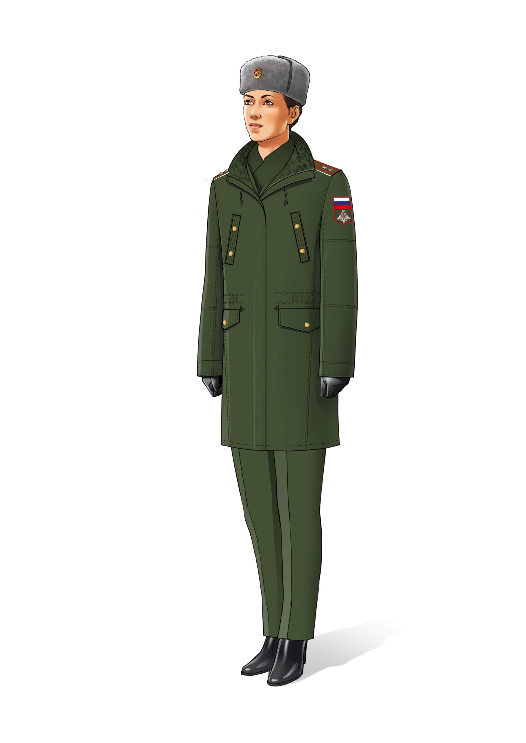 общем, хорошая весенняя форма одежды военнослужащих фото она