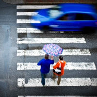Правительство РФ запретило совершать обгон на нерегулируемом пешеходном переходе