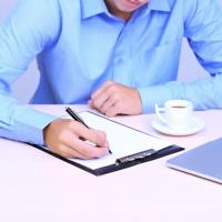 Рекомендована форма заявления о предоставлении акта сверки расчетов по налогам на бумажном носителе