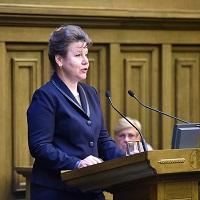 аместитель Председателя ВС РФ – председатель Судебной коллегии по административным делам Татьяна Петрова