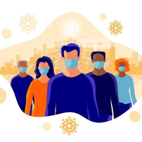 С 28 октября ношение масок в общественных местах станет обязательным на всей территории страны