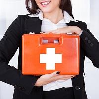 С 1 сентября – обновленный состав аптечек для оказания первой помощи работникам