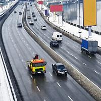 Снег и наледь не относятся к материалам, препятствующим идентификации госномера автомобиля