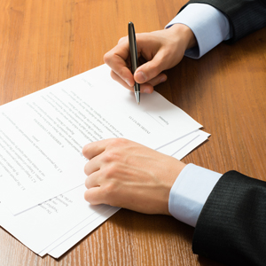Документы о расторжении договора