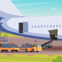 На выдачу багажа пассажирам в аэропорту предлагается отвести не более часа с момента прибытия самолета