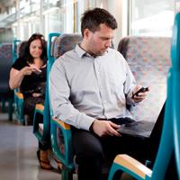 В столице запущен новый сервис, позволяющий оплатить проезд в общественном транспорте с помощью мобильного телефона